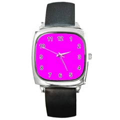 Trendy Purple  Square Metal Watches by Costasonlineshop