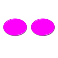 Trendy Purple  Cufflinks (oval) by Costasonlineshop