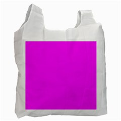 Trendy Purple  Recycle Bag (two Side)  by Costasonlineshop