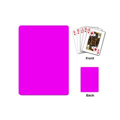 Trendy Purple  Playing Cards (Mini)  by Costasonlineshop