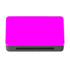 Trendy Purple  Memory Card Reader With Cf by Costasonlineshop