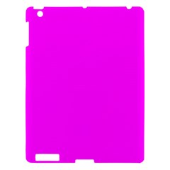 Trendy Purple  Apple iPad 3/4 Hardshell Case by Costasonlineshop