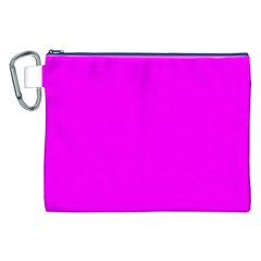 Trendy Purple  Canvas Cosmetic Bag (xxl)  by Costasonlineshop