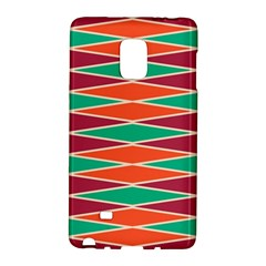Distorted rhombus pattern			Samsung Galaxy Note Edge Hardshell Case by LalyLauraFLM