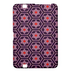 Flowers And Honeycomb Patternkindle Fire Hd 8 9  Hardshell Case by LalyLauraFLM