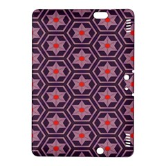 Flowers And Honeycomb Pattern			kindle Fire Hdx 8 9  Hardshell Case by LalyLauraFLM