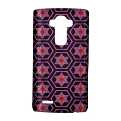 Flowers And Honeycomb Patternlg G4 Hardshell Case by LalyLauraFLM