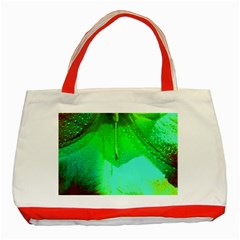 Angels 1 Classic Tote Bag (red)  by timelessartoncanvas