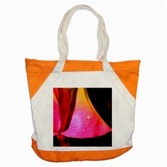 Pink Angel Accent Tote Bag  by timelessartoncanvas