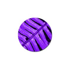 Purple Fern Golf Ball Marker (4 Pack) by timelessartoncanvas