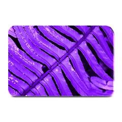 Purple Fern Plate Mats by timelessartoncanvas