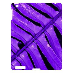 Purple Fern Apple Ipad 3/4 Hardshell Case by timelessartoncanvas