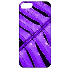 Purple Fern Apple Iphone 5 Classic Hardshell Case by timelessartoncanvas