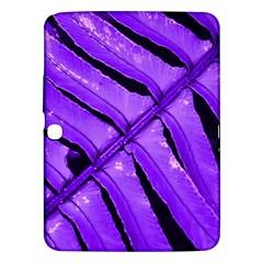 Purple Fern Samsung Galaxy Tab 3 (10 1 ) P5200 Hardshell Case  by timelessartoncanvas