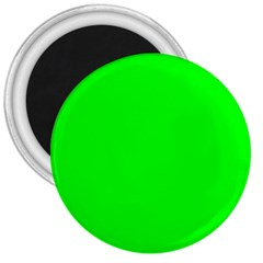 Cool Green 3  Magnets by Costasonlineshop