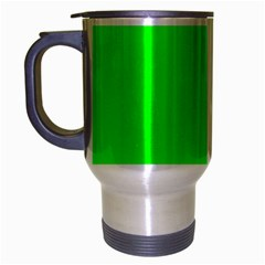 Cool Green Travel Mug (silver Gray) by Costasonlineshop