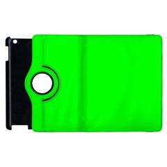 Cool Green Apple Ipad 3/4 Flip 360 Case by Costasonlineshop