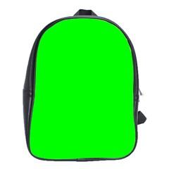 Cool Green School Bags (xl)  by Costasonlineshop