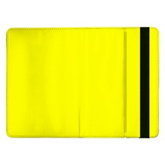 Beautiful Yellow Samsung Galaxy Tab Pro 12 2  Flip Case by Costasonlineshop