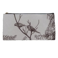 Couple Of Parrots In The Top Of A Tree Pencil Cases by dflcprints