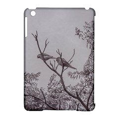 Couple Of Parrots In The Top Of A Tree Apple Ipad Mini Hardshell Case (compatible With Smart Cover) by dflcprints