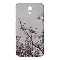 Couple Of Parrots In The Top Of A Tree Samsung Galaxy Mega I9200 Hardshell Back Case by dflcprints