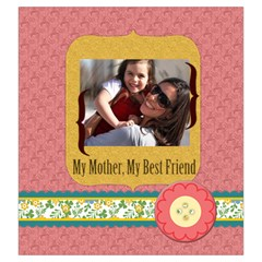 Mothers Day By Mom   Drawstring Pouch (large)   7ntuasomb3w8   Www Artscow Com Back
