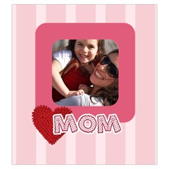 Mothers Day By Mom   Drawstring Pouch (large)   9drmer5fm75w   Www Artscow Com Back