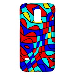 Colorful Bent Shapes			samsung Galaxy S5 Mini Hardshell Case by LalyLauraFLM