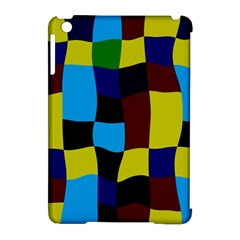 Distorted Squares In Retro Colors			apple Ipad Mini Hardshell Case (compatible With Smart Cover) by LalyLauraFLM