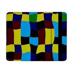 Distorted Squares In Retro Colors			samsung Galaxy Tab Pro 8 4  Flip Case by LalyLauraFLM