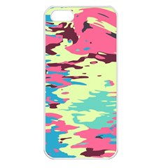 Chaos Textureapple Iphone 5 Seamless Case (white) by LalyLauraFLM