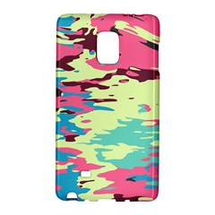 Chaos Texturesamsung Galaxy Note Edge Hardshell Case by LalyLauraFLM