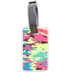Chaos texture Luggage Tag (one side) by LalyLauraFLM