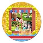 summer - Magnet 5  (Round)
