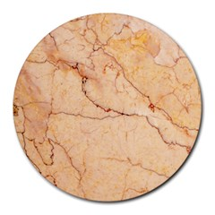 Stone Floor Marble Round Mousepads by essentialimage