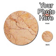 Stone Floor Marble Multi Purpose Cards (round)  by essentialimage