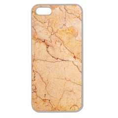 Stone Floor Marble Apple Seamless Iphone 5 Case (clear) by essentialimage
