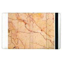 Stone Floor Marble Apple Ipad 3/4 Flip Case by essentialimage