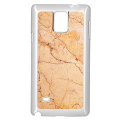 Stone Floor Marble Samsung Galaxy Note 4 Case (white) by essentialimage