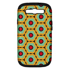 Floral Patternsamsung Galaxy S Iii Hardshell Case (pc+silicone) by LalyLauraFLM