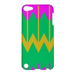 Chevrons			apple Ipod Touch 5 Hardshell Case by LalyLauraFLM