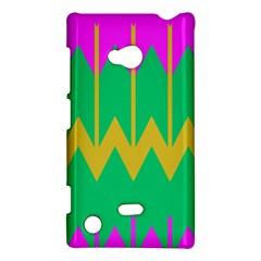 ChevronsNokia Lumia 720 Hardshell Case by LalyLauraFLM