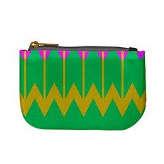 Chevrons 	mini Coin Purse by LalyLauraFLM
