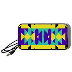 Tribal Design Portable Speaker by LalyLauraFLM