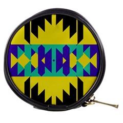 Tribal Design Mini Makeup Bag by LalyLauraFLM