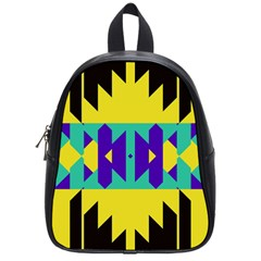 Tribal Design 			school Bag (small) by LalyLauraFLM