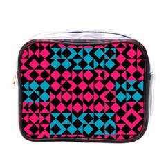 Rhombus And Trianglesmini Toiletries Bag (one Side) by LalyLauraFLM