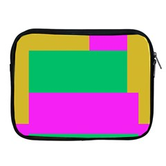 Rectangles And Other Shapesapple Ipad 2/3/4 Zipper Case by LalyLauraFLM