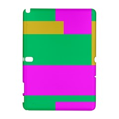 Rectangles And Other Shapessamsung Galaxy Note 10 1 (p600) Hardshell Case by LalyLauraFLM